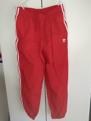 Adidas Originals Pantalone da ginnastica bianco-rosso
