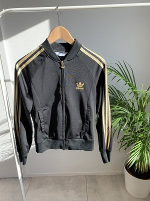 Adidas Originals Gilet de sport doré-noir