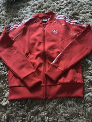 Adidas Originals Sweatjack rood-wit