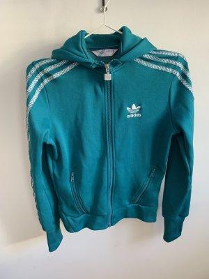 Adidas Originals Giacca sport blu cadetto-petrolio