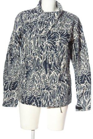 Adidas Originals Overgangsjack blauw-wit volledige print casual uitstraling