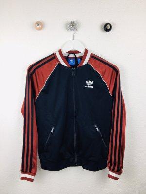 Adidas Originals Sports Jacket bordeaux-dark blue