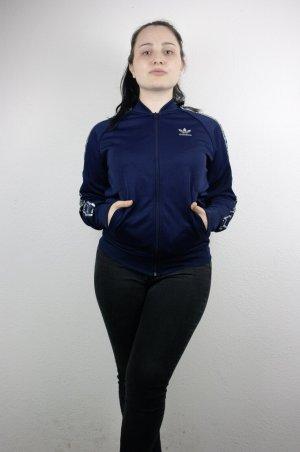 Adidas Originals Giacca sport blu scuro-argento