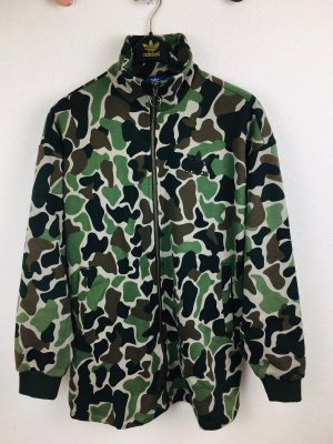 Adidas Originals X Camo Style Sweat Coat Gr. XS Camouflage