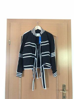 Adidas Sports Jacket white-black
