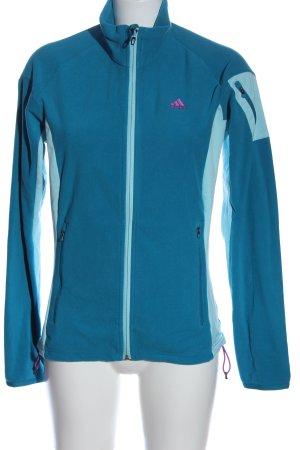 Adidas Outdoor Jacket blue casual look