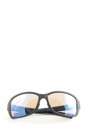 Adidas ovale Sonnenbrille schwarz Casual-Look