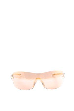 Adidas Lunettes de soleil ovales rose-jaune primevère style décontracté