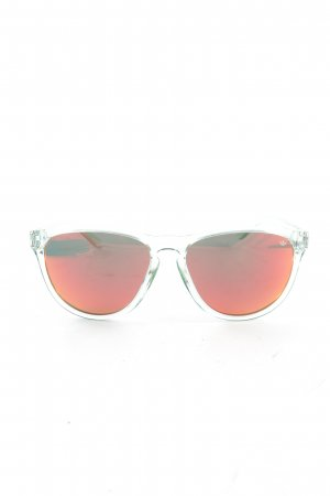 Adidas Oval Sunglasses white casual look