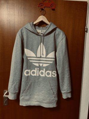Adidas Maglione oversize grigio chiaro