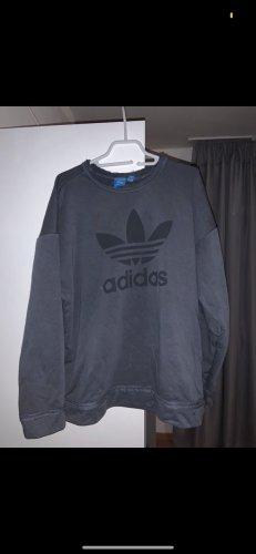 Adidas Pull oversize gris ardoise
