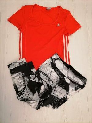 Adidas Sport Shorts black-red