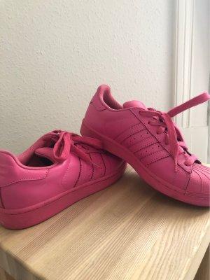 adidas Pharrell Williams Superstar Equality Schuhe Pink Damen