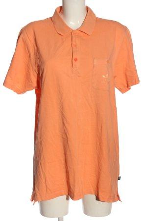 Adidas Polo arancione chiaro stile casual