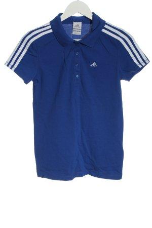 Adidas Polo-Shirt blau Casual-Look