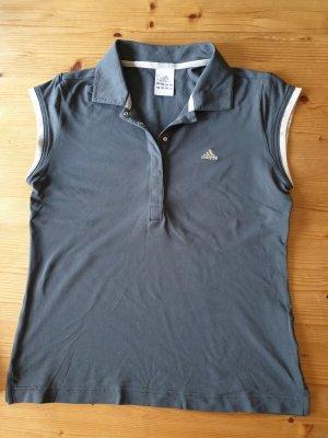 Adidas Top Polo gris anthracite