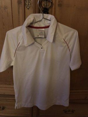 Adidas Poloshirt Tennis Shirt Gr. 38 weiß