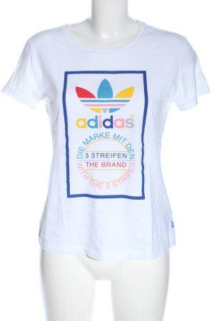 Adidas Print-Shirt Motivdruck Casual-Look