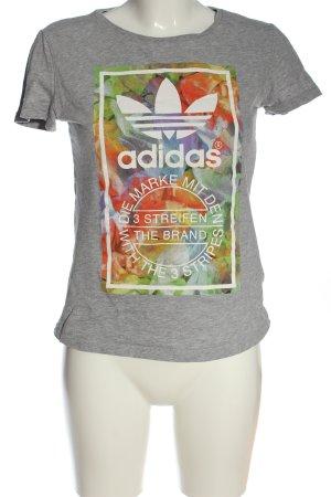 Adidas Camiseta estampada moteado look casual