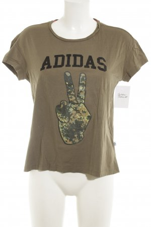 Adidas Shirt met print camouflageprint casual uitstraling
