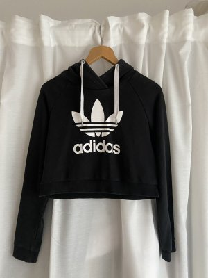 Adidas Pull à capuche blanc-noir
