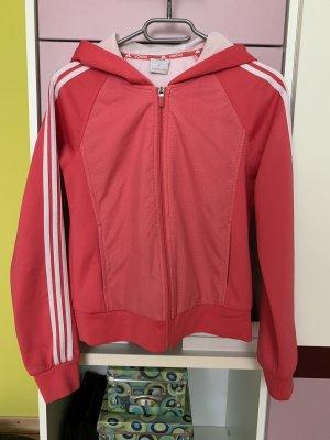 Adidas Maglione con cappuccio rosa-magenta