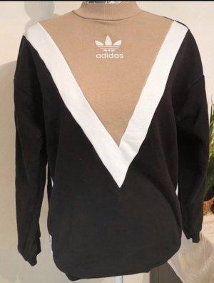 Adidas Originals Jersey de punto grueso negro-beige