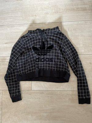 Adidas Hooded Sweater black-white