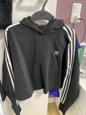 Adidas Pull court noir-blanc