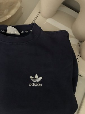 Adidas Sweatshirt bleu foncé-bleu