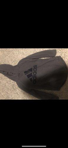 Adidas Pull en maille fine bleu foncé