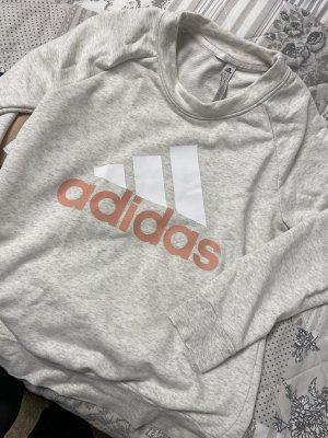 Adidas Jersey de cuello redondo gris claro