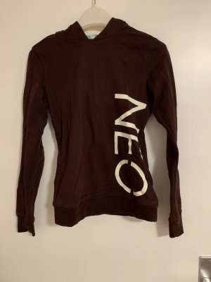 Adidas NEO Hooded Sweater bordeaux