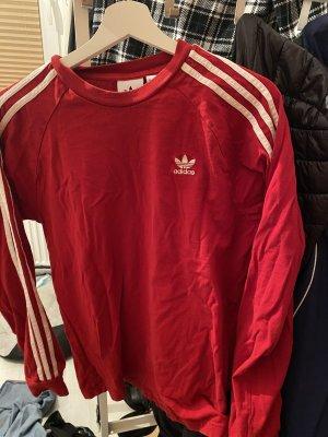Adidas Fleece Jumper dark red