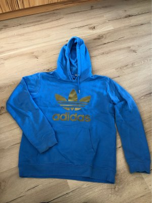 Adidas Hooded Sweater cornflower blue
