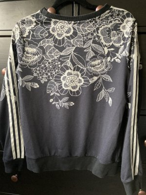 Adidas Originals Sweatshirt zwart-wolwit
