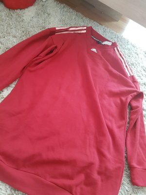 Adidas Originals Oversized trui donkerrood
