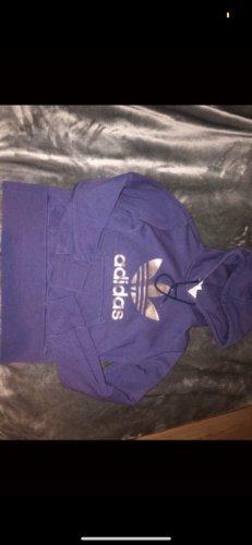 Adidas Maglione con cappuccio lilla