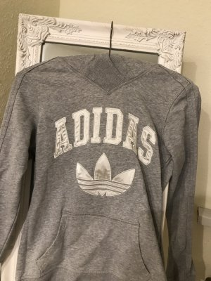 Adidas Jersey con capucha color plata