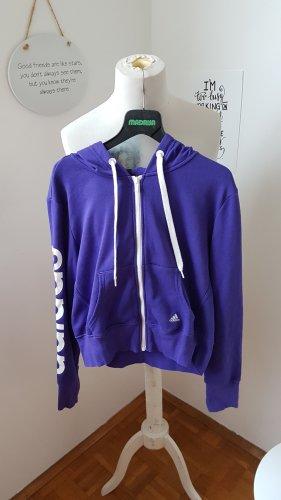 Adidas Hooded Vest brown violet-white