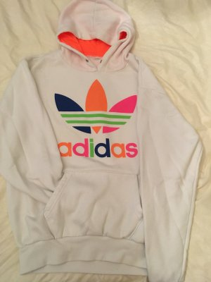 Adidas Capuchon sweater wit