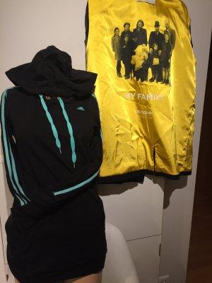 Adidas Sweatshirt met capuchon zwart