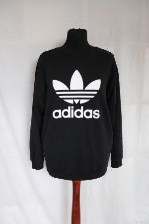 Adidas Sweatshirt wit-zwart