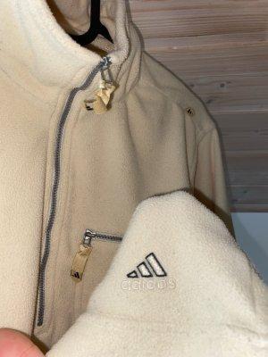 Adidas Sudadera de forro crema-amarillo claro