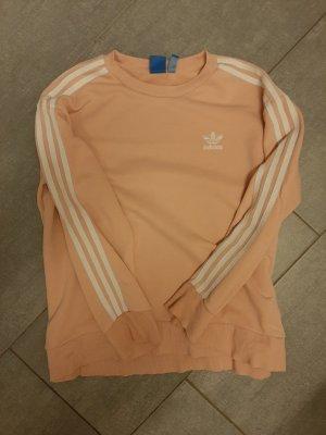 Adidas Długi sweter fioletowy