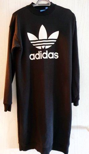 Adidas Swetrowa sukienka czarny