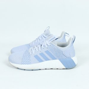 Adidas Sneakers met veters wit-azuur Textielvezel