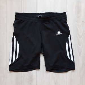 Adidas Sportshort wit-zwart