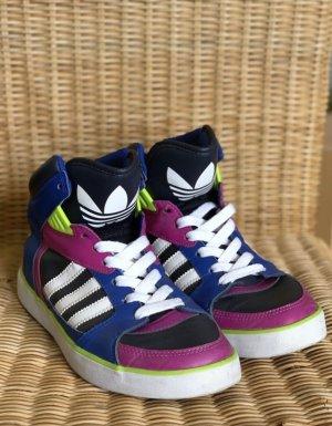 Adidas Rare Retro Turnschuh Oldschool Style Trainers Sneakers Hohe Sneaker Basketballschuhe Sammelware