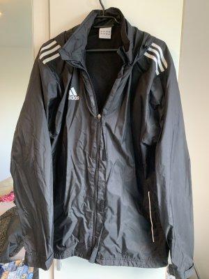 Adidas Regenjas zwart-wit